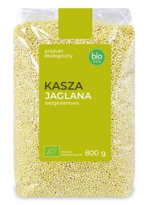 Kasza Jaglana Bezglutenowa Bio 800 G- Bio Family
