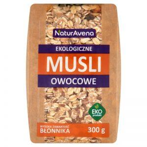Musli Owocowe Bio 300 g - Naturavena