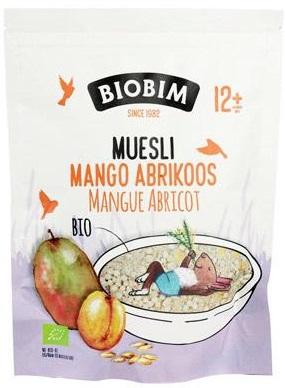 Biobim Musli Mango - Morela Po 12 Miesiącu Bio