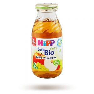 Hipp Sok Jabłka Winogrona - Po 4 Miesiącu