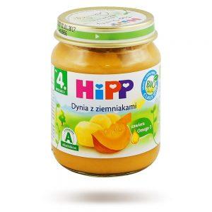 Hipp Warzywa Dynia z Ziemniakami Bio - Po 4 Miesiącu