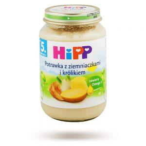 Hipp Potrawka z Ziemniaczkami i Królikiem - Po 5 Miesiącu