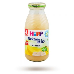 Hipp Nektar Banany Bio - Po 4 Miesiącu