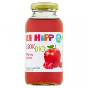 Hipp Sok Maliny Jabłka - Po 4 Miesiącu