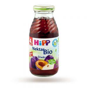 Hipp Nektar Śliwki-Gruszki Bio - Po 4 Miesiącu