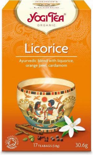 Herbatka z Lukrecją Bio (17 x 1,8 G) - Yogi Tea