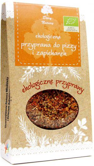 Przyprawa Do Pizzy i Zapiekanek Bio 30 g - Dary Natury