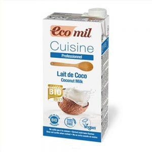 Mleczko Kokosowe Bezglutenowe Bio 1 l - Ecomil