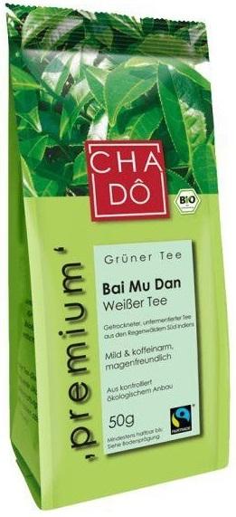 Herbata Biała, Liściasta Bai Mu Dan Premium 50g.
