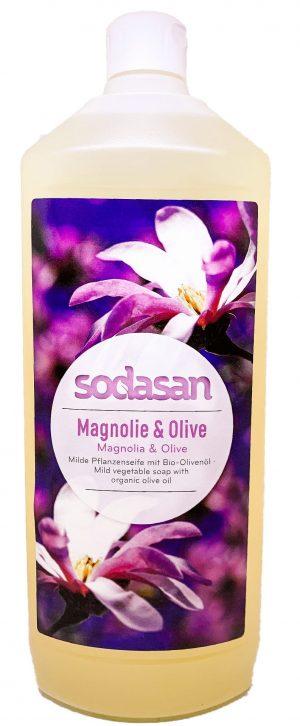 Mydło w Płynie Magnolia - Oliwka 1000 Ml. Bio