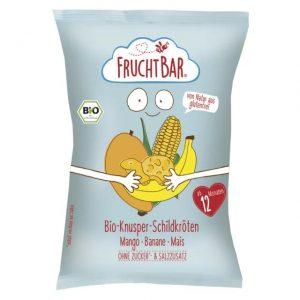 Chrupki Kukurydziane Mango- Banan Powyżej 12 M-Ca Bio 30 g - Fruchtbar