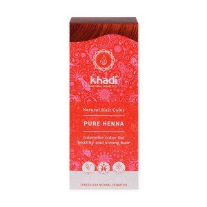 Henna Naturalna Czerwona (Ruda) - Khadi