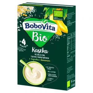 Kaszka Ryżowa Kukurydziana z Tapioką Bio - Bobovita