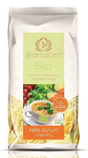 Makaron (2-Jajeczny) Krajanka Bio 250 g - Bartolini
