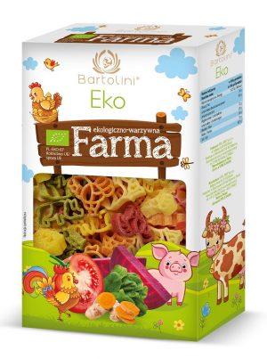Makaron (Semolinowy z Suszonymi Warzywami) Dla Dzieci Farma Bio 250 g - Bartolini