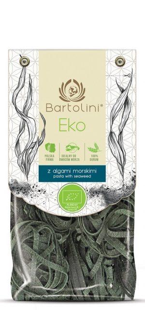 Makaron (Semolinowy z Algami Morskimi) Gniazda Tagliatelle Bio 250 g - Bartolini