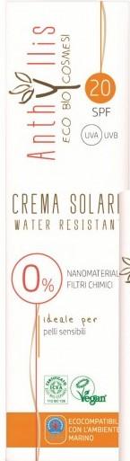 Eko Bio Krem Przeciwsłoneczny Spf 20  A+++, Pompka 10.0 Ochrona Uva i Uvb Skór Wrażliwa Wodoodporny 100ml Anthyllis