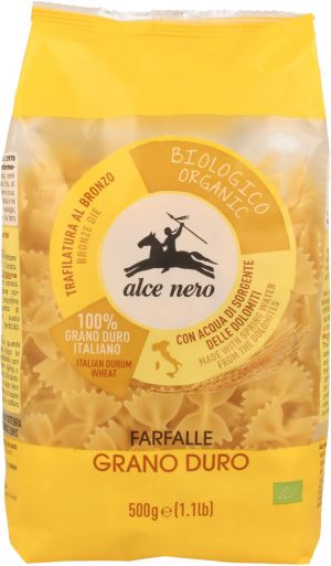 Makaron (Semolinowy) Farfalle Bio 500 g - Alce Nero