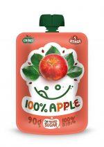 Mus Jabłkowy 100% Bio 90 g - Novofruct