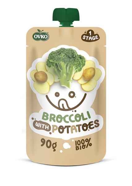 Danie- Brokuły z Ziemniakami 90 g - Novofruct