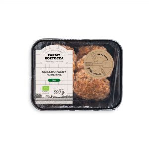 Grillburgery Farmerskie Bio Ok. 300 g - Farmy Roztocza