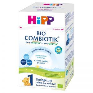 Hipp Bio Combiotik 1 Ekologiczne Mleko Początkowe Dla Niemowląt