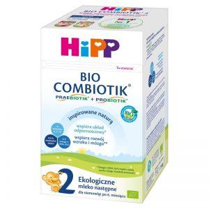 Hipp Bio Combiotik 2 Ekologiczne Mleko Następne Dla Niemowląt - Po 6 Miesiącu