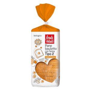 Chleb Tostowy Pszenny Bio 400 g - Baule Volante