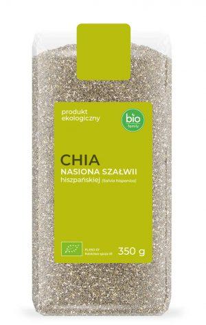 Chia - Nasiona Szałwii Hiszpańskiej Bio 350 g - Bio Family