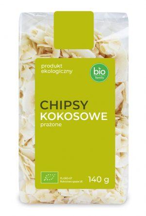 Chipsy Kokosowe Prażone Bio 140 g - Bio Family