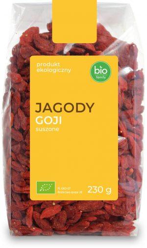 Jagody Goji Suszone Bio 230 g - Bio Family