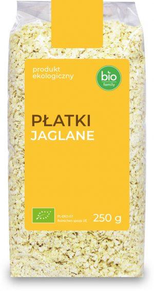 Płatki Jaglane Bio 250 g - Bio Family