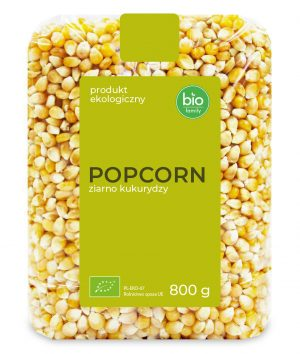 Popcorn (Ziarno Kukurydzy) Bio 800 g - Bio Family