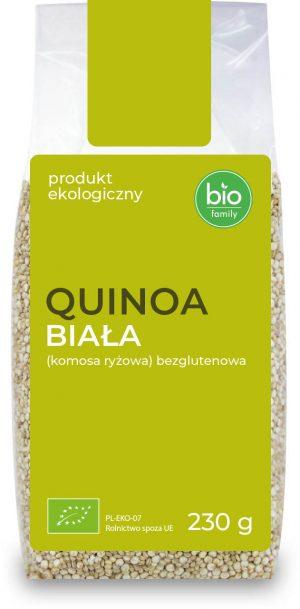 Quinoa Biała (Komosa Ryżowa) Bezglutenowa Bio 230 g - Bio Family