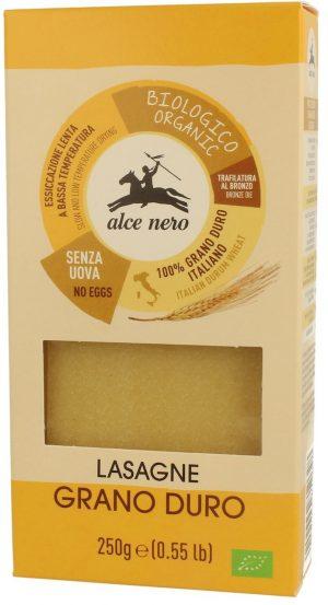 Makaron (Semolinowy) Lasagne Bio 250 g - Alce Nero
