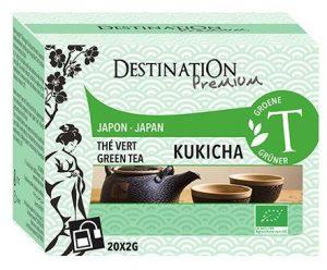 Herbata Ziel. Kukicha Japonia 20X2G Eko