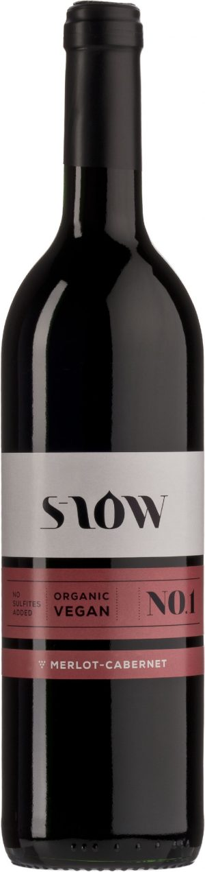 Wino S-Low Merlot-Cabernet Bez Dodatku Siarczynów Czerwone Wytrawne Bio 0,75 l (Francja)