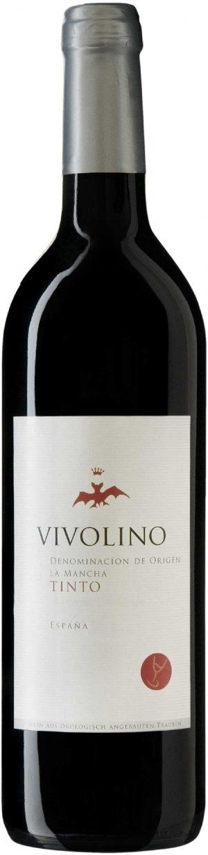 Wino Vivolino Tinto Czerwone Wytrawne Bio 0,75 l (Hiszpania)