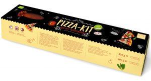 Ciasto Na Pizzę Bio 400 g + Sos Pomidorowy (Słoik) Bio 200 g - Donau Strudel