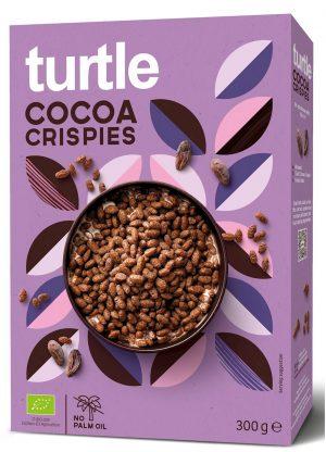 Chrupki Ryżowe Kakaowe Bio 300 g - Turtle