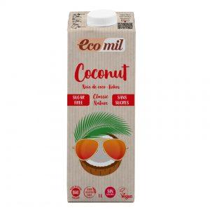 Napój Kokosowy Classic Bez Cukru Bio 1 l - Ecomil