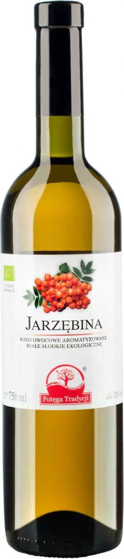 Wino Jarzębina Białe Słodkie Bio 0,75 l - Potęga Tradycji