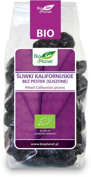 Śliwki Kalifornijskie Bez Pestek Bio 200 g - Bio Planet